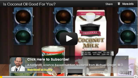 Coconut Oil - You Are Being Fed a Greasy Story - Video